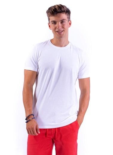 Benson Tişört Beyaz